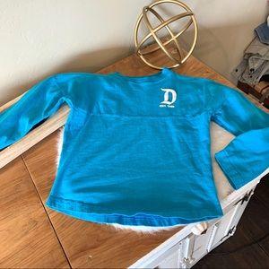 Disney Parks long sleeve spirit jersey